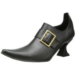 Ellie Shoes Women's 301 Hazel Boot, Black Polyurethane, 10 M