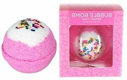 Birthday Cake Bubble Bath Bomb by Two Sisters Spa. Large 99%