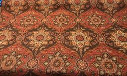 Mill Creek Buckaroo Sienna Chenille Tapestry Upholstery Fabr