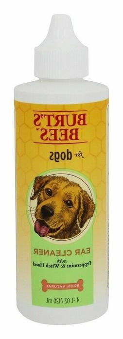 BURT'S BEES - EAR CLEANER FOR DOGS PEPPERMINT & WITCH HAZEL