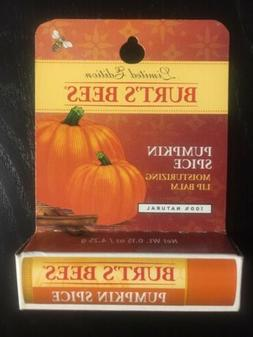 Burt's Bees Limited Edition Pumpkin Spice Moisturizing Lip B