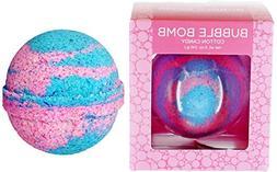 Cotton Candy BUBBLE Bath Bomb in Gift Box - Large Lush Spa F
