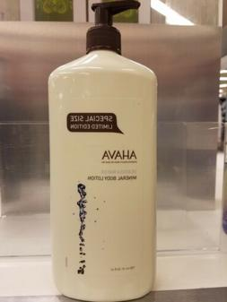 AHAVA DEADSEA WATER MINERAL BODY LOTION 24oz / 750ml LARGE L