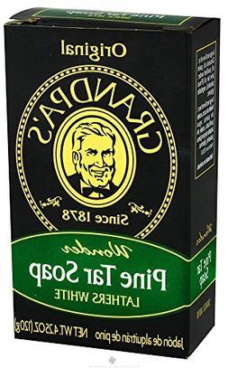 Grandpas Grandpa Pine Tar Soap Lg 4.25 Oz