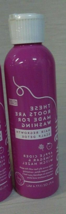hair regrowth scalp detox w apple cider