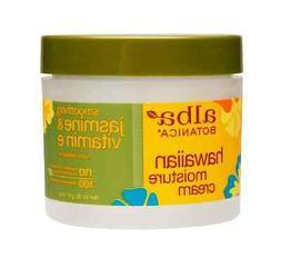 Alba Botanica Hawaiian Moisture Cream, Jasmine - Vitamin E,