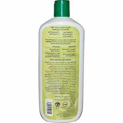 Aubrey Organics: Camomile Luxurious Shampoo, 16