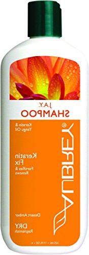 Aubrey Organics J.A.Y. Shampoo - Keratin Shampoo All Natural