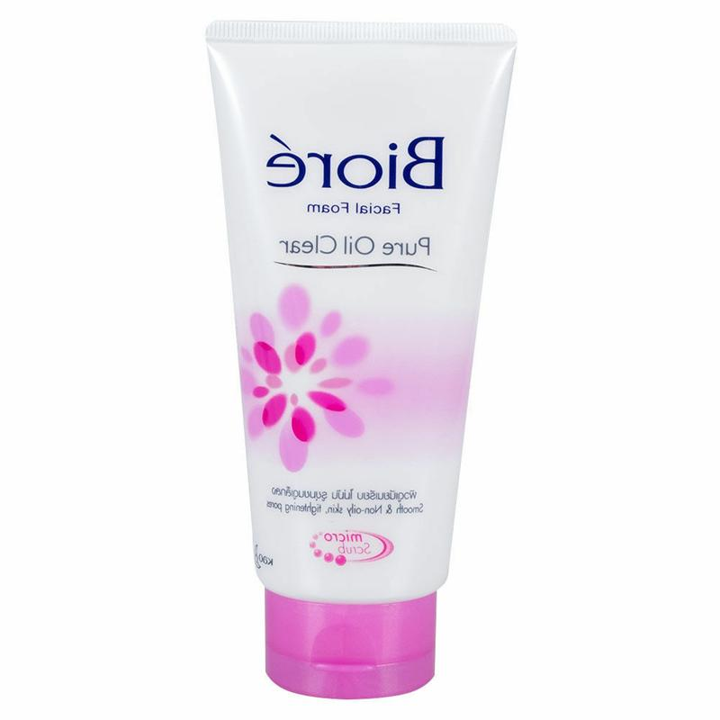 Biore Facial Foam Witch for Pure Oil Clear with Oily Skin