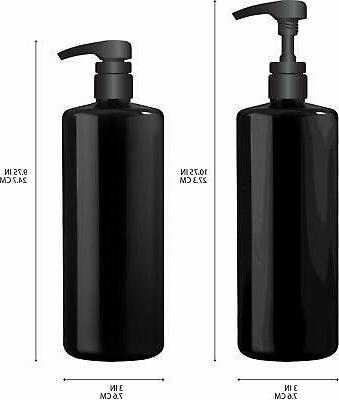 Bar5F Empty with Black, Great 1 Liter/32 Refillable