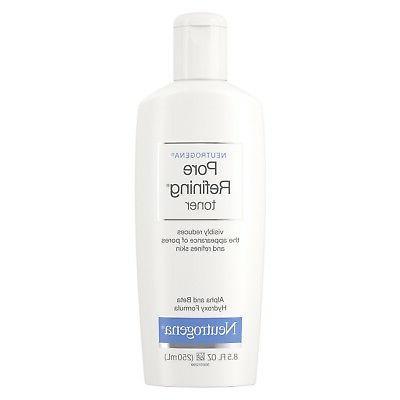 new pore refining toner pore cleanser 8