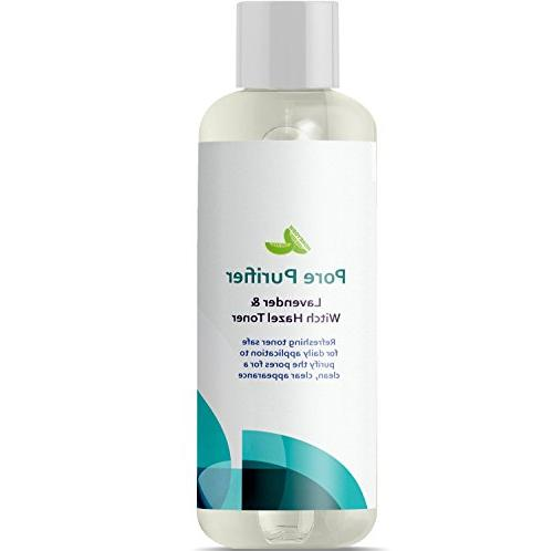 Witch Free Astringent Vera and for Skin Skin Refine Pores Clear Acne Nourishing Anti-Aging Formula All Natural Honeydew