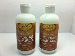 2 SHEA SOLUTIONS Leave in Conditioner Shea Butter Paraben-fr