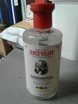 Thayers LEMON Witch Hazel Alcohol-ASTRINGENT with Aloe Vera
