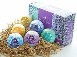 Relaxing Bubble Bath Bombs Gift Set by Two Sisters Spa. 6