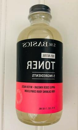 S.W. Basics Facial Toner with Witch Hazel for Sensitive Acne