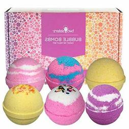 Sweet Retreat Birthday Bubble Bath Bombs Gift Set by Two Sis